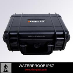 Plastic Camera hard case black. dust & waterproof case