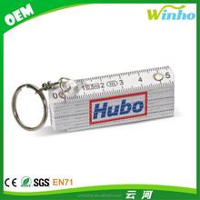 Winho personalized car shape tape measure keyring