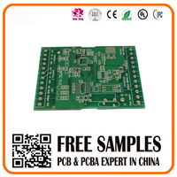 Green solder mask 1.6mm thickness pcb assembly quote