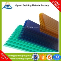 Soundproof discount corrugated plastic greenhouse panels
