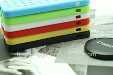 2015 fashion mobile phone silicone case for iphone 5C