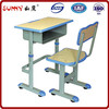 Ergonomic design adjustable child wooden desk and chair set