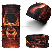 Hot New Products For 2016 Tube Seamless Multifunctional Polyester Bandana With Custom Logo