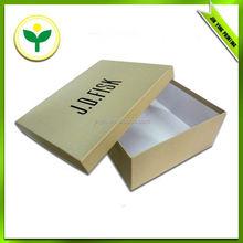 luxury fancy promotional cardboard shoe box wholes