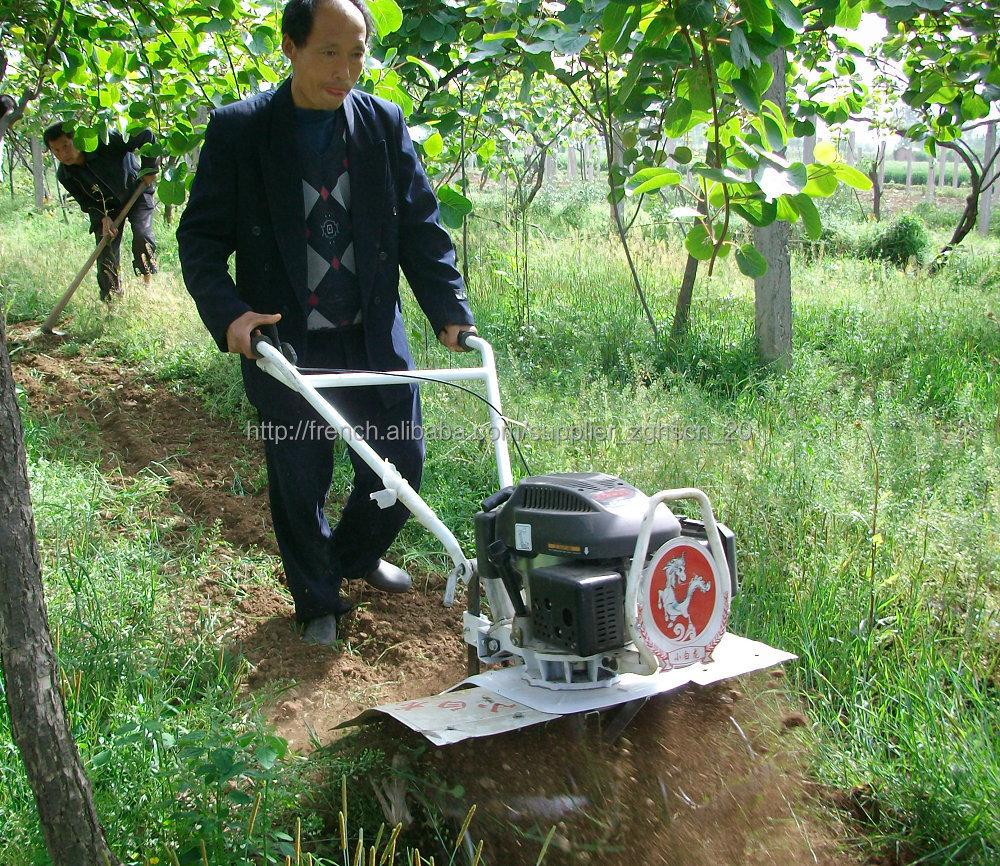 small plowing machine