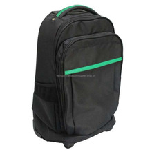 al aire libre de equipaje de viaje bolso de la carretilla portátil bolso del ordenador portátil mochila con ruedas