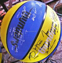 standard size 7 shiny rubber basketball
