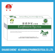 Top veterinary drug companies supply Enrofloxacin Injection with GMP Certificate