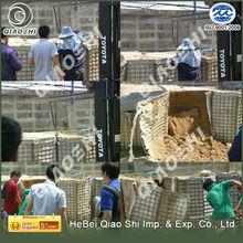 Military used hesco basket bastion/military barrier/hesco barrier