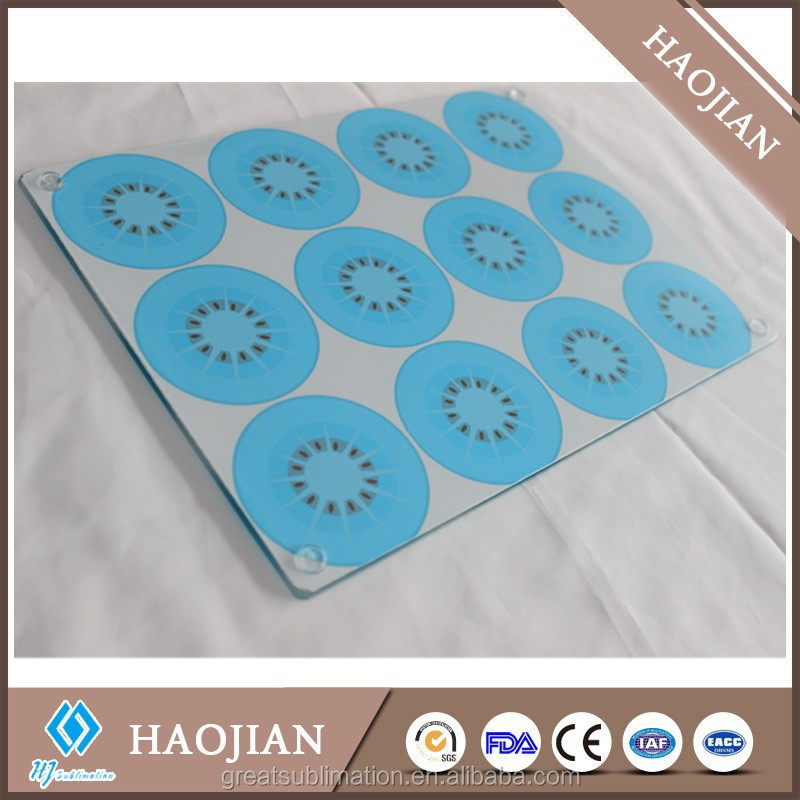 Sublimation custom made tempered glass cutting board buy cutting board custom made tempered - Tempered glass cutting board personalized ...