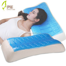 Cooling Gel Chip Added, Memory Foam Gel Pillow,high quality bed pillow