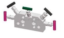 6000 psi 5 valve solenoid instrument manifold