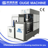 Stretch Blow Moulding Blow Moulding Type and PET Plastic Processed 5 gallon water bottle blowing machine