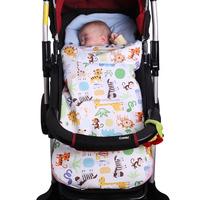 Soft winter baby stroller foot muff
