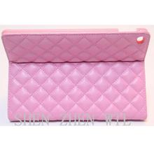 commerce grade diamond grain wallet leather case for ipad air 2