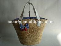 2012 branded cute straw handbag
