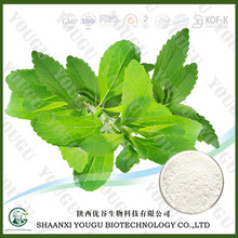 High purity plant stevia leaf extract powder Stevioside from chinese ISO certified manufacturer