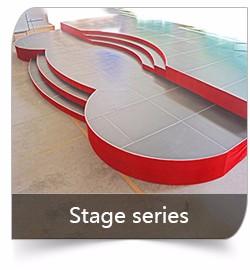 SGS Безопасности 1.22 х 1.22 м алюминиевая рама регулируемая фанера этапе материалы/свадьба этап/ступень лестницы