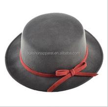 Women wool felt hat fashion wool hat jazz hat