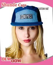 Custom 5 Panel Caps Hats Corduroy 5 Panel Baby Hat Snapback Cap
