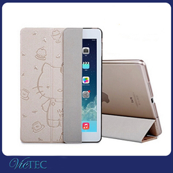 Ultrathin hello kitty tablet pc case for iPad mini 2