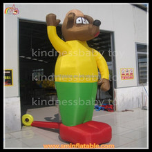 Hot outdoor giant inflatable advertising dog cartoon model for sale