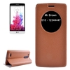 Fast Delivery with Caller ID Display Window Leather Cover for LG G3 Beat