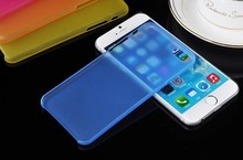 HOT SALE ultrathin matte transparency phone case for apple iphone 6 case