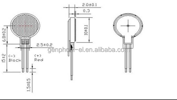 0834 flat vibration motor mobile phone vibration motor button motor