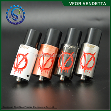 Authentic Original !!! Shenmao New Design High Quality V for vendetta RDA Challenging Rock Fish RDA / Da Vinci Vaporizer