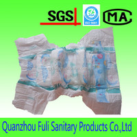 Cute disposable sleepy baby diaper manufacturers in China