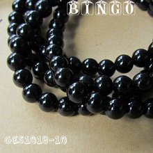 Black Agate Beads For Jewelry Making