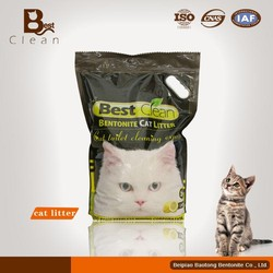 lemon flavor best clean brand pet cat litter bentonite cat sand
