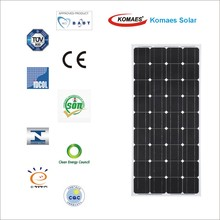 150W Solar System Solar Module Solar Panel with TUV IEC MCS INMETRO IDCOL SONCAP Certificate