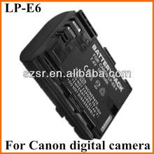 Lp-e6 para Canon EOS 7D batería batería de la videocámara