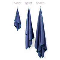 THE SPORT & TRAVEL TOWEL: Microfiber, ultra-light, hang loop. 3 SIZES: Beach/Gym/Hand. MANY COLORS. Super-absorbent SportLite To