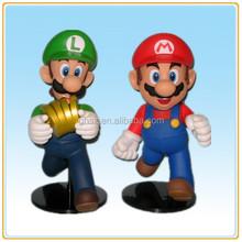 Wholesale good quality custom plastic mario bros action figure super mario bros toys