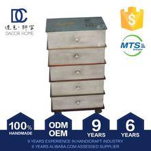 High Quality Good Price Vintage White High Gloss Bar Cabinet