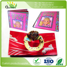 Customized SGS Certification Paperboard Children Pop Up Book Printing