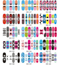 12pcs/sheet Full Covered Newest Design Custom Design Sticker Nail Art