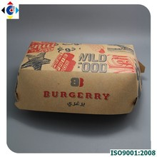 Cardboard box for hamburger, hot dog paper box, hot dog box maker