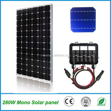 High efficiency mono 320W pv solar panel price
