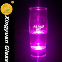 LED lighting glass cup shinning glass