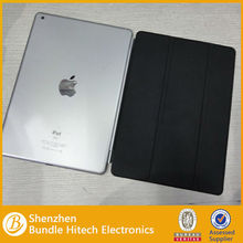 2013 hot selling leather case for ipad air/5 smart cover
