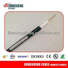 de alta calidad ohmios 75 rg6 coaxial cable de televisión por cable