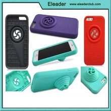 2015 wholesale price factory directly sale for silicone stand iphone 6 case cover, speaker case for iphone