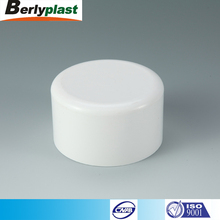 White Pipe Fittings plastic pvc pipe end cap fitting