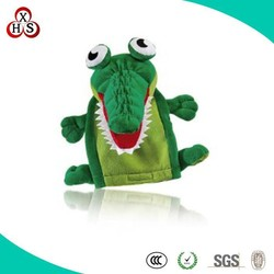 high quality custom factory make plush walking dinosaur hand puppet toys hot sale