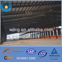 structural steel warehouse/two story steel structure warehouse/steel frame warehouse