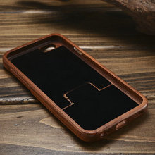 2015 China original Natural Bamboo Cell phone case for iPhone 6 phone case 4 colors